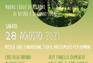 Inaugurazione nuovo ecovillaggio alpe pianello lago Maggiore