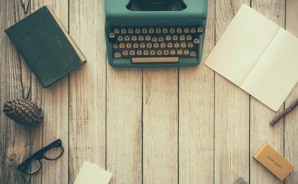 macchina da scrivere prima volta
