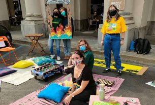Parking Day: Greenpeace trasforma un parcheggio in uno spazio per la socialità