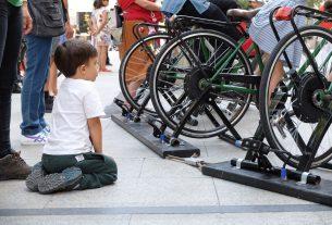 Pedal Power, gli eventi sostenibili alimentati a pedali dal pubblico
