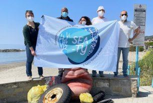 Puliamo la spiaggia di Santo Stefano al Mare con il progetto Sea-ty