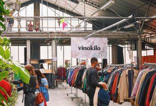 Vinokilo, il mercato circolare di abiti usati venduti al chilo
