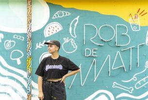 Il murale che depura l'aria contro spreco alimentare e cambiamento climatico