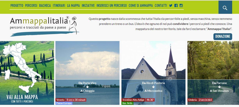 ammappa italia mappa collettiva cammini piedi 1560324634