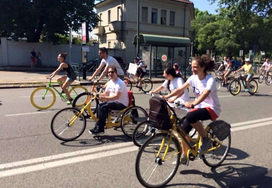 arriva torino tohandbike prima bici condivisione persone con disabilita 1559212389
