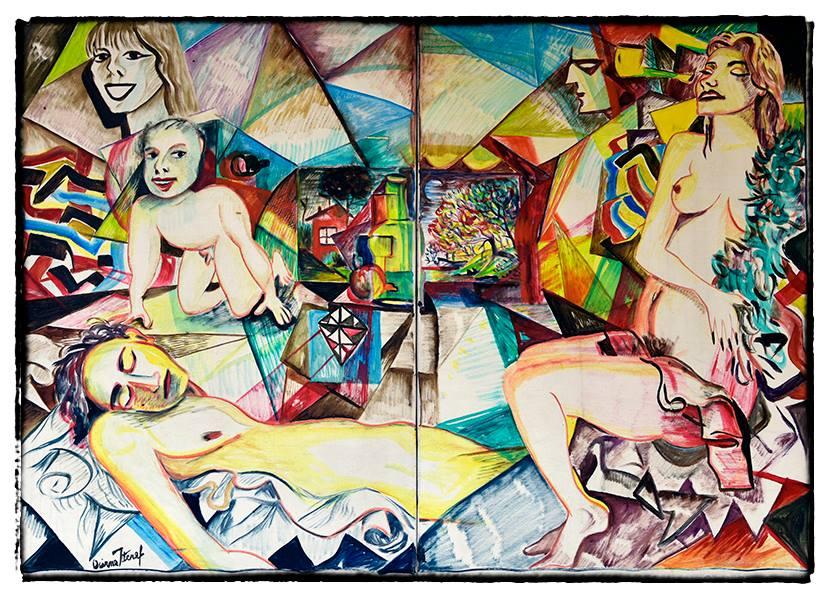 arte e follia a collegno mostra opere pazienti psichiatrici 1500971461