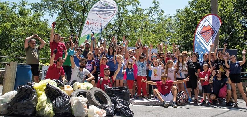 biella arriva plogging attivita unisce sport raccolta rifiuti 1563445798