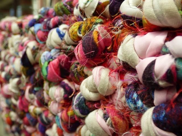 dea leidi tessitrice mostra museo della lana 1491381492