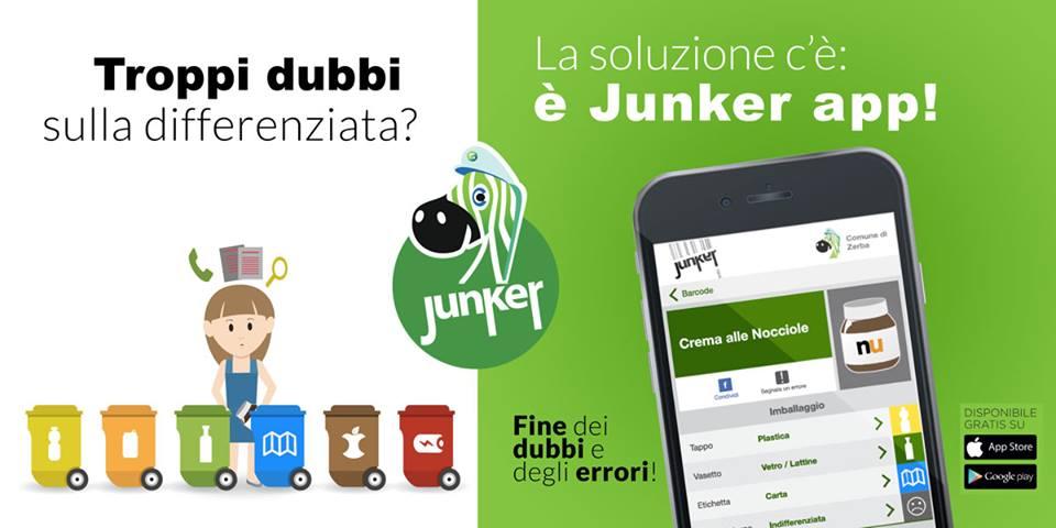 junker app ti aiuta fare raccolta differenziata 1551435084