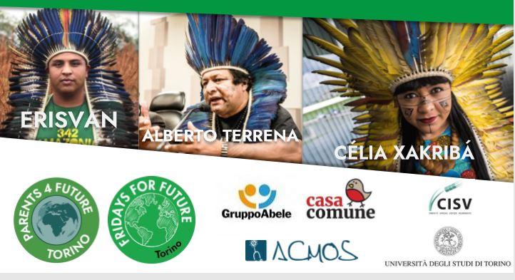 leader indigeni amazzonia arrivano torino 1571302728