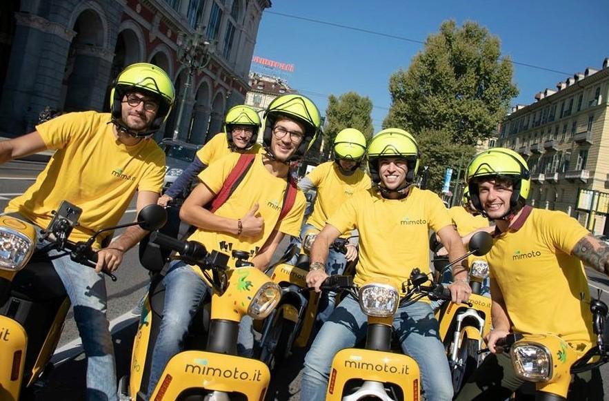 mimoto torino scooter elettrico condivisione 1541756518