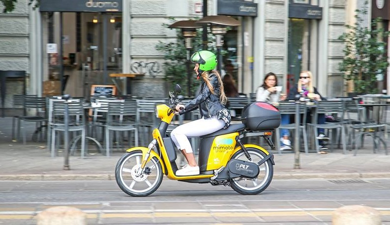 mimoto torino scooter elettrico condivisione 1541756892