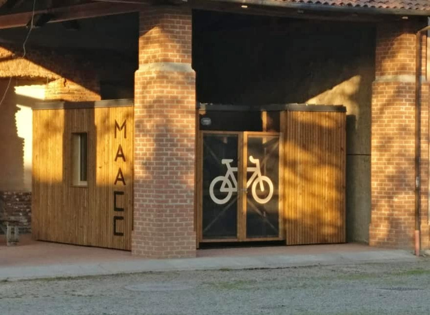 nasce maacc casetta cicloturisti camminatori favorisce mobilita sostenibile 1557828593