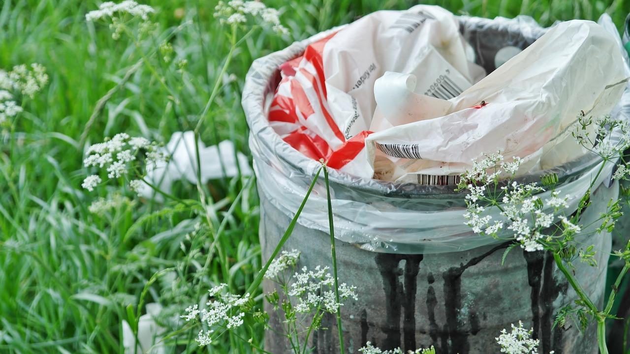 raccolgono differenziano rifiuti abbandonati strada esempio due giovani moncalieri 1555493925