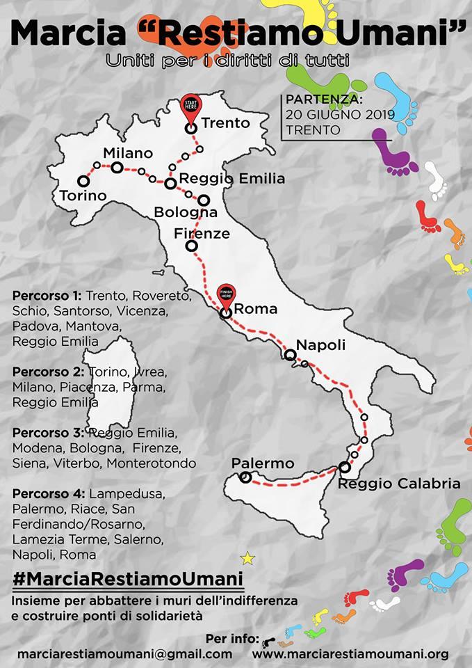 restiamo umani marcia unisce italia nome uguaglianza 1562713905