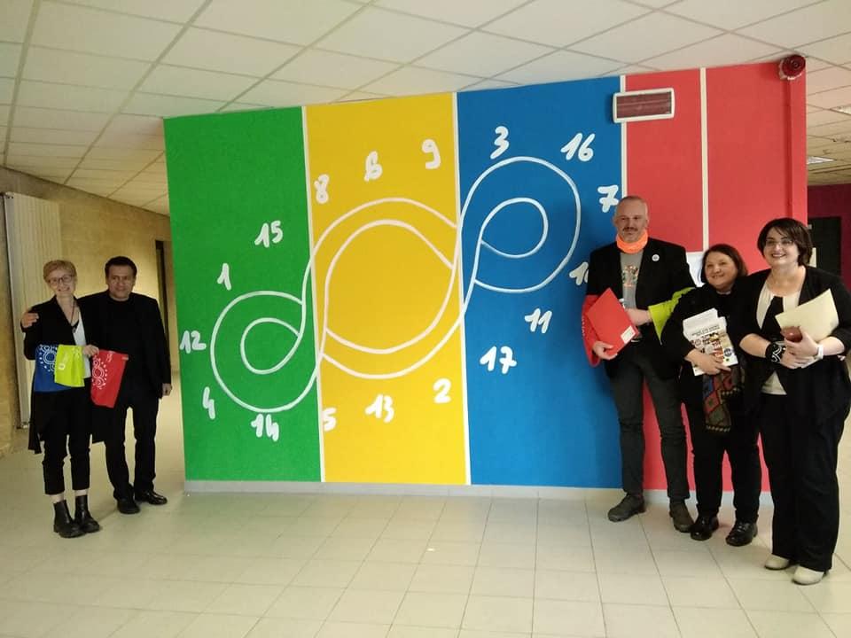 rivoli realizzato istituto natta wall painting terzo paradiso obiettivi sviluppo sostenibile 1557132585