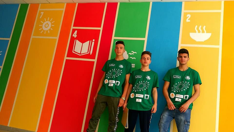 rivoli realizzato istituto natta wall painting terzo paradiso obiettivi sviluppo sostenibile 1557132681