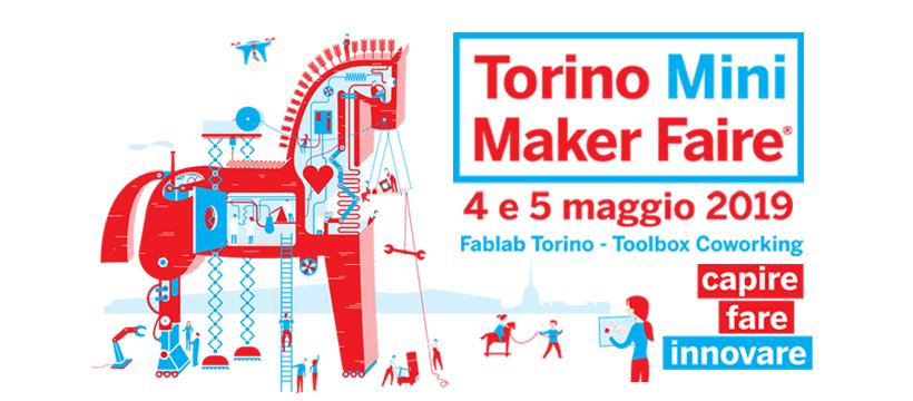 torna torino mini maker faire fiera insegna innovazione riuso 1556099541
